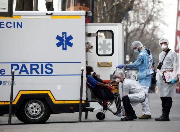 Γαλλία-Κοροναϊός: 78 νέοι θάνατοι σε 24 ώρες, 450 συνολικά