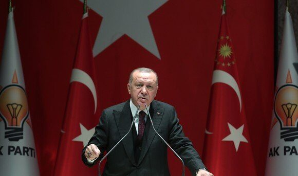 Διάγγελμα Ερντογάν: «Κανένας ιός δεν μπορεί να εμποδίσει το λαμπρό μας αύριο»