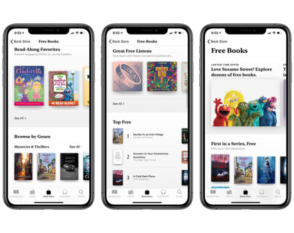 Η Apple προσφέρει δωρεάν βιβλία και audiobooks στους χρήστες