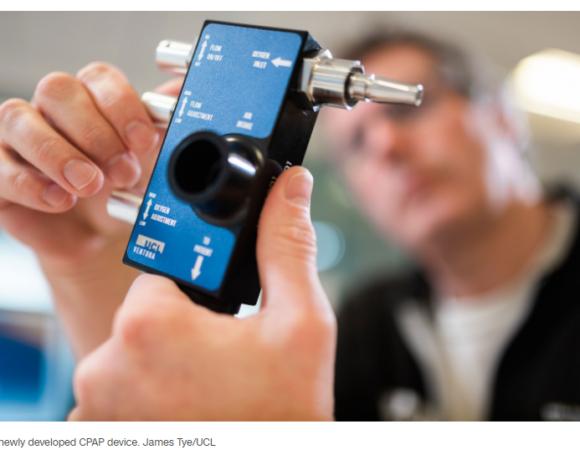 Ηνωμένο Βασίλειο : Ερευνητές κατασκεύασαν αναπνευστήρα ειδικό για ασθενείς με κοροναϊό