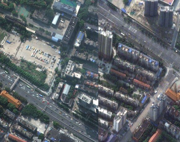 Κι όμως ο κορωνοιός είμαι ορατός από το διάστημα! – Εικόνες από δορυφόρο