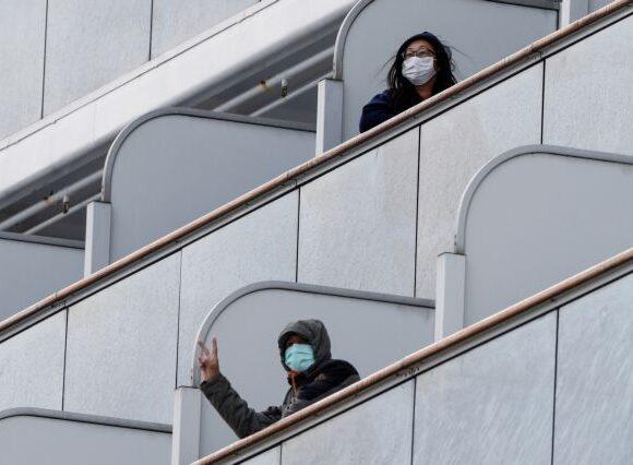 Κοροναϊός : Δεκάδες επιβάτες με «συμπτώματα γρίπης» σε κρουαζιερόπλοιο