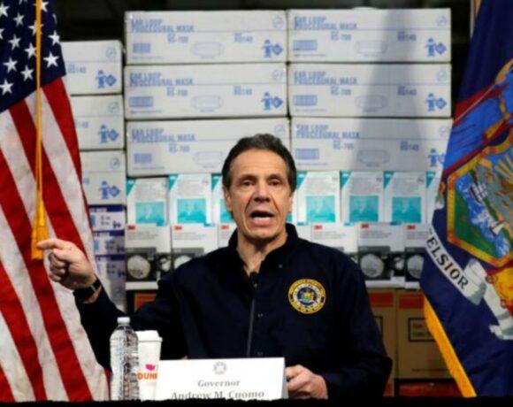 Κοροναϊός – Νέα Υόρκη : 134 νέοι θάνατοι – Τι δήλωσε ο κυβερνήτης Άντριου Κουόμο