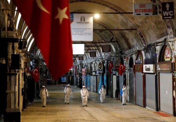 Κοροναϊός – Τουρκία: Στους 131 οι νεκροί, ξεπερνούν τις 9