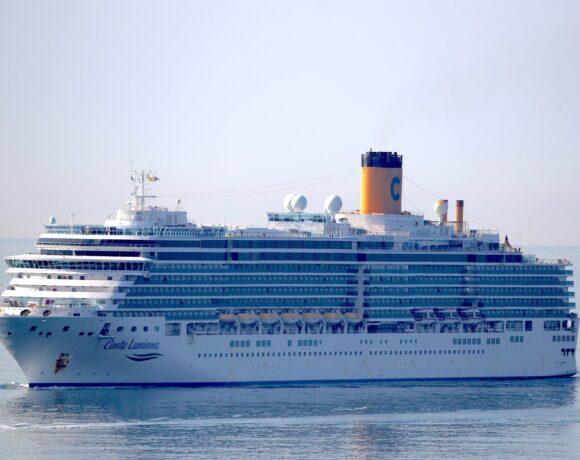 Κρουαζιερόπλοιο με προορισμό την Ιταλία έχει 36 επιβάτες θετικούς στον κορωνοϊό