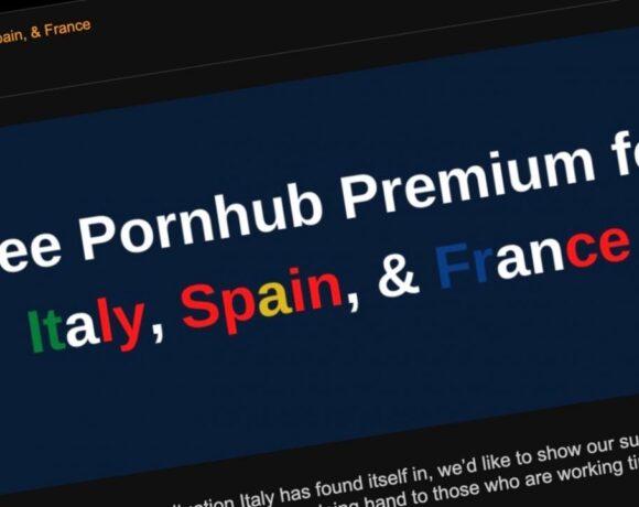 Το Pornhub δίνει δωρεάν… «δουλειά για το σπίτι» στους έγκλειστους του κορωνοϊού