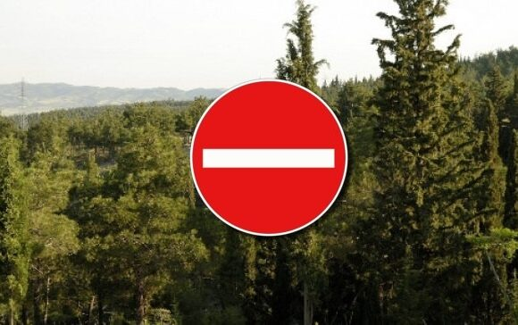 Thessaloniki: Access to Seikh Su Forest is Prohibited