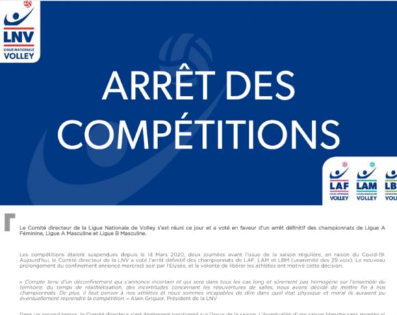 Γαλλία: Τέλος τα πρωταθλήματα βόλεϊ!