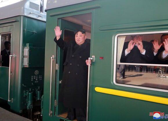 Εντοπίστηκε το ειδικό τρένο του Κιμ Γιονγκ Ουν από ομάδα παρακολούθησης