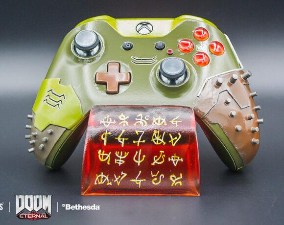 Η Bethesda παρουσίασε το πιο περίεργο χειριστήριο για το Xbox One