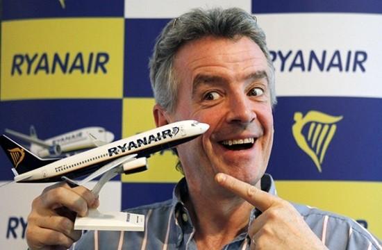 Η Ryanair απειλεί με μηνύσεις την Ευρώπη λόγω των κρατικών ενισχύσεων σε (άλλες) εταιρείες