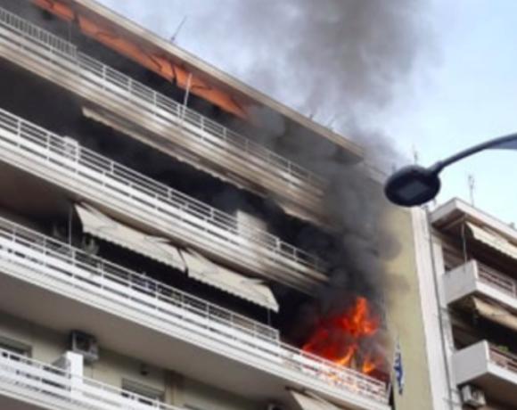 Θεσσαλονίκη: Ένας νεκρός από πυρκαγιά σε διαμέρισμα