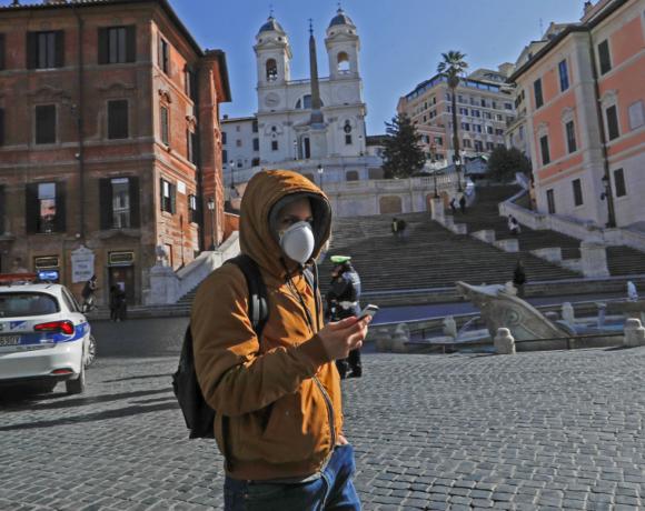 Ιταλία: 760 νέοι θάνατοι το τελευταίο εικοσιτετράωρο από τον κορωνοϊό