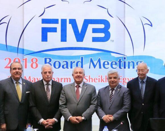 Καραμπέτσος για CEV, Γκιούρδας για FIVB
