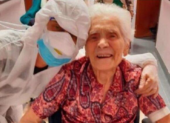 Κοροναϊός : Γιαγιά 104 ετών, επέζησε από την ισπανική γρίπη και από τον covid -19