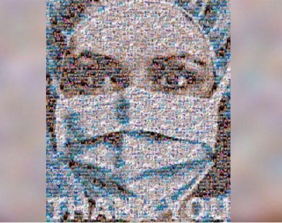 Κοροναϊός : Εντυπωσιακό κολάζ με 200 πρόσωπα της πρώτης γραμμής