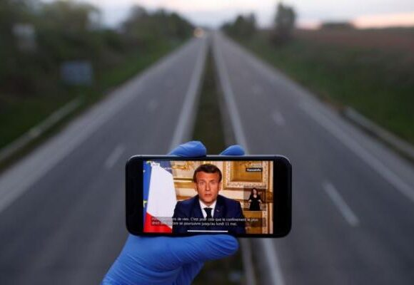 Κοροναϊός: Η πλειοψηφία των Γάλλων πείστηκε από το διάγγελμα Μακρόν