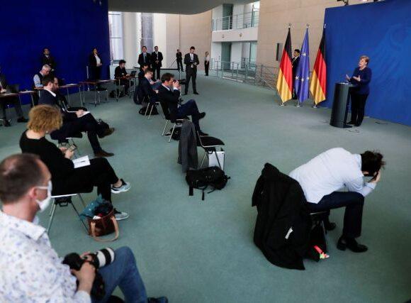 Κοροναϊός – Μέρκελ : Δεν υπάρχει δυνατότητα χαλάρωσης των μέτρων