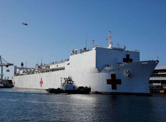 Κοροναϊός : Συναγερμός σε πλωτό νοσοκομείο στην Καλιφόρνια – Επτά κρούσματα σε νοσηλευτές