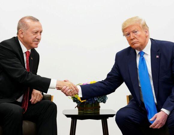 Κοροναϊός: Τραμπ – Ερντογάν συμφώνησαν για συνεργασία ενάντια στην πανδημία