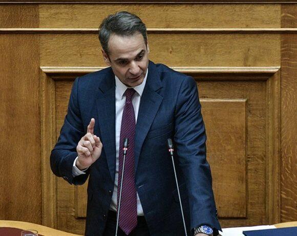 Μητσοτάκης: Την Πέμπτη η ενημέρωση της Ολομέλειας για την πολιτική αντιμετώπισης της κρίσης