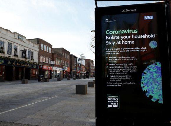 Ο κοροναϊός «τιμωρεί» τη Βρετανία – Θλιβερό ρεκόρ 563 νέων θανάτων
