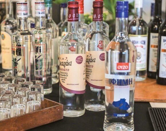 Προσφορά αλκοόλης από τους παραγωγούς Αποσταγμάτων και Αλκοολούχων Ποτών