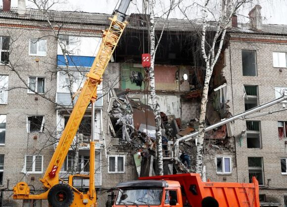 Σοκαριστικά βίντεο από την κατάρρευση κτιρίου στη Μόσχα