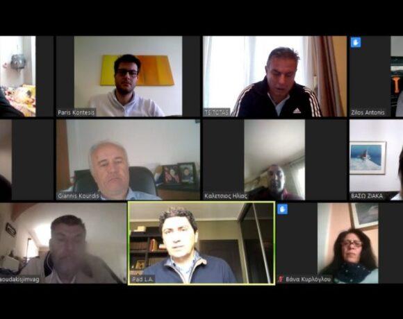 Τηλεδιάσκεψεις Αυγενάκη με διοικήσεις των ΕΑΚ