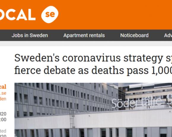 Χάος στη Σουηδία με τα «χαλαρά» μέτρα κατά του κοροναϊού