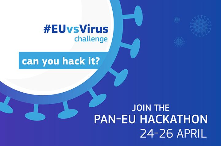 #EUvsVirus Hackathon Seeks Solutions to Tackle Covid-19