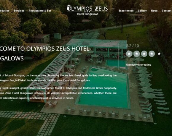 Greece's Olympios Zeus Hotel Launches New Website