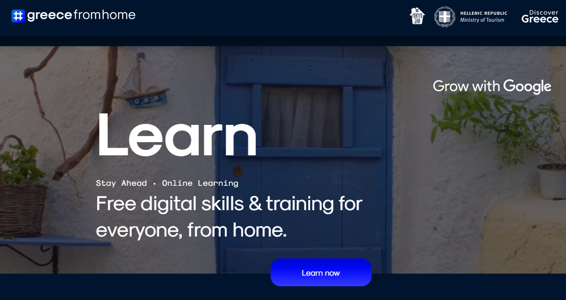 Greek Professionals Look to 'Learn' from #Greecefromhome