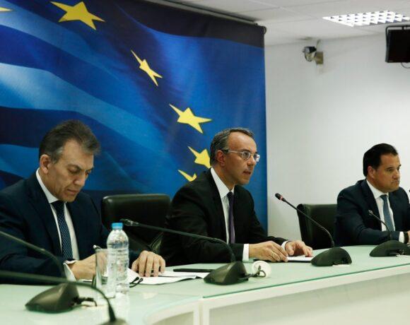 (Live) Οι εξαγγελίες του οικονομικού επιτελείου για τα νέα μέτρα στήριξης