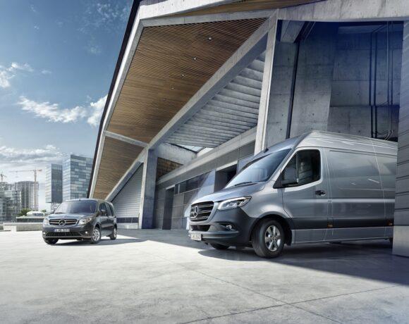 Mercedes-Benz Hellas Donates Light Vans to EKAV Ambulance Service