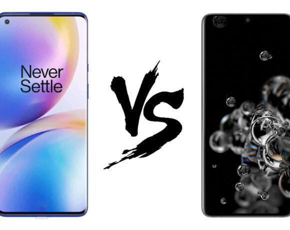 OnePlus 8 Pro vs Samsung Galaxy S20 Ultra: Σύγκριση στα τεχνικά χαρακτηριστικά