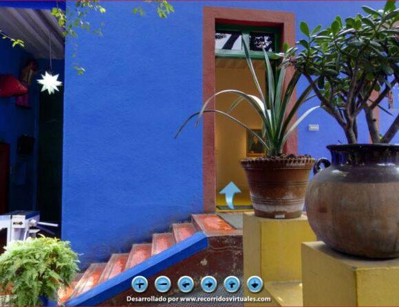 Online περιήγηση στο «Μπλε Σπίτι» και το μαγικό κόσμο της Φρίντα Κάλο