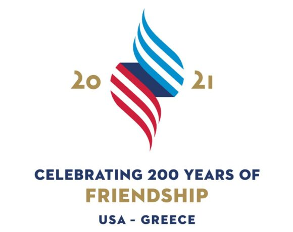 US Expresses Solidarity with Greece Through New 2021 Logo