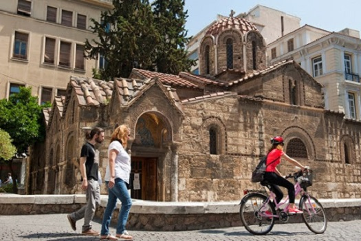 Athens Closed Off to Cars for Three Months