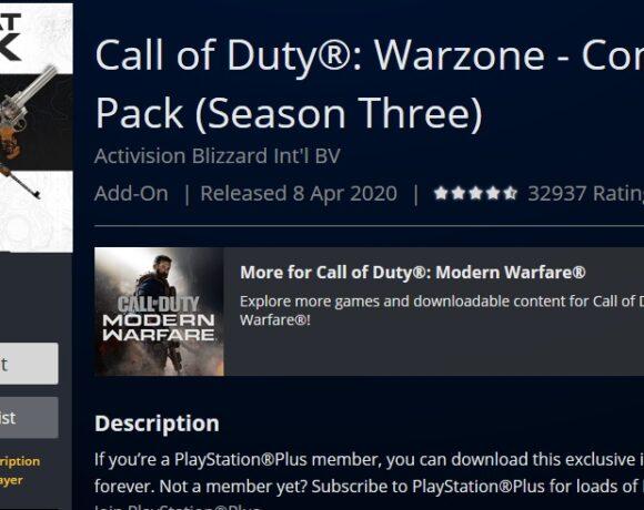 Call of Duty: Warzone: Δωρεάν το Combat Pack με Battle Pass για τη Season 3 στο PS Plus