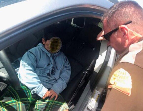 Απίστευτο : Η τροχαία σταμάτησε ΙΧ που οδηγούσε πεντάχρονος