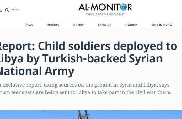Αποκάλυψη: Ανήλικους στρατιώτες στέλνει στο μέτωπο της Λιβύης η Τουρκία