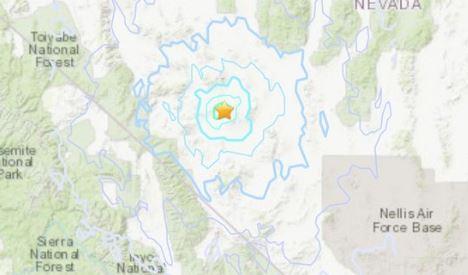 ΗΠΑ: Ισχυρός σεισμός 6,4 Ρίχτερ στη Νεβάδα