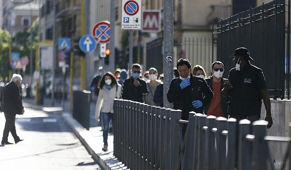 Ιταλία – Covid-19: Μείωση των κρουσμάτων και των νεκρών