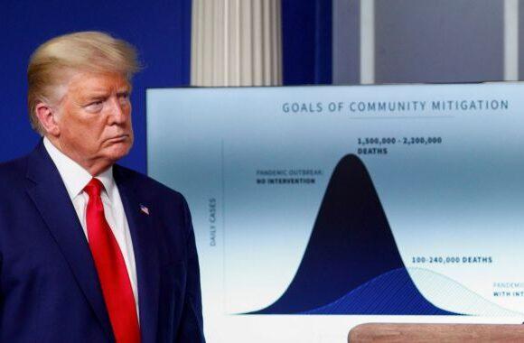 Κοροναϊός: Με tweet σχολιάζει ο Τραμπ το θλιβερό ορόσημο των 100
