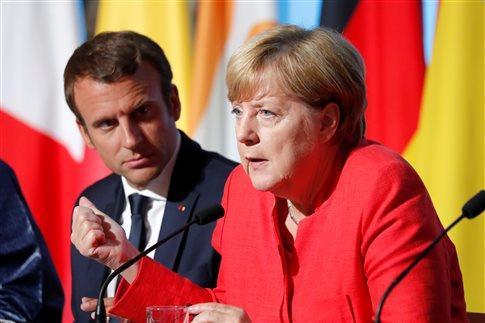 Μέρκελ-Μακρόν ζητούν Ταμείο Ανάκαμψης ύψους €500 δισ