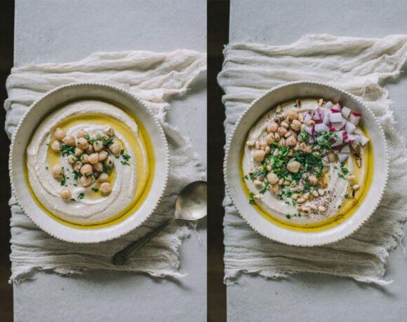 Συνταγή για χούμους (hummus)