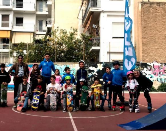 Το Ολυμπιακό άθλημα του σκέιτμπορντ στην Ελλάδα