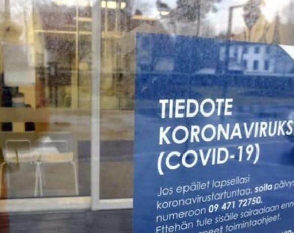 Φιλανδία: Παραγγελία υγειονομικού υλικού 100 εκατ