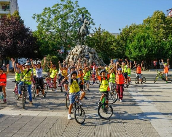 Karditsa, Greece, Wins European Sustainable Mobility Award